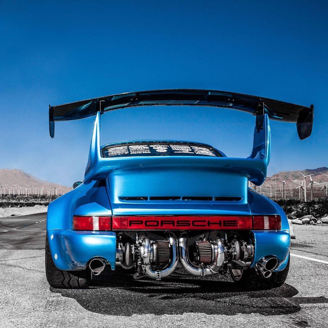 Bisimoto's Porsche 930