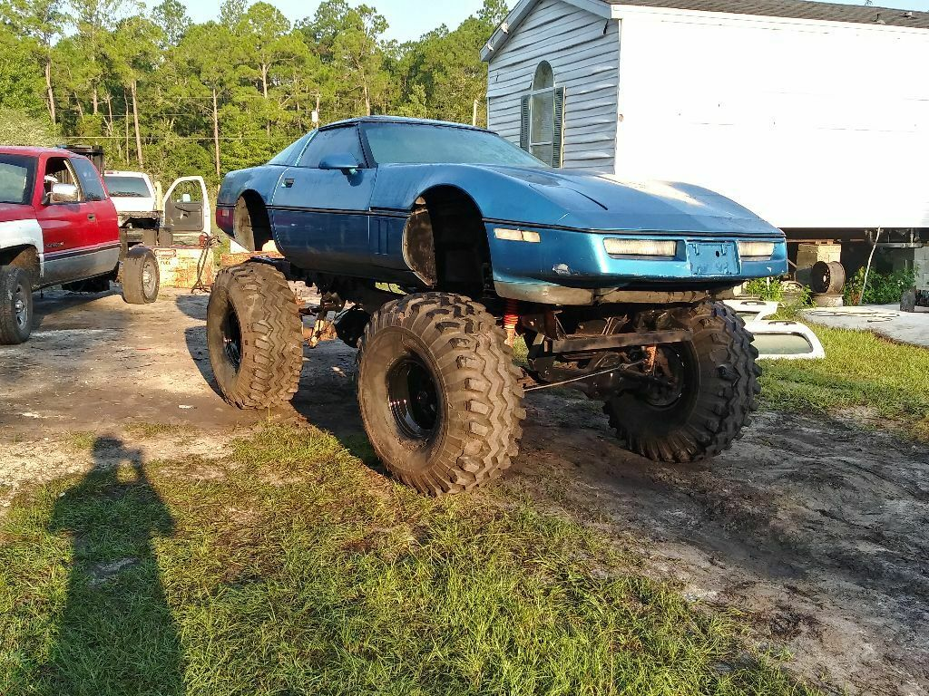1990 corvette monster truck 4x4