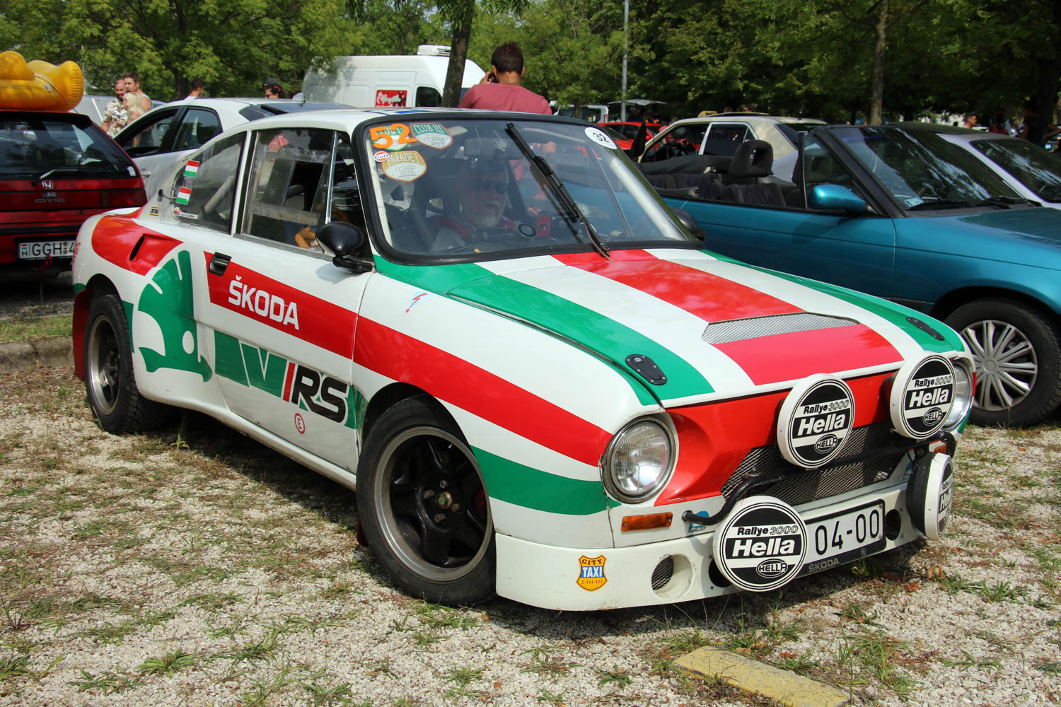 This widebody Škoda 130 RS rally tribute is angry and awesome thumbnail