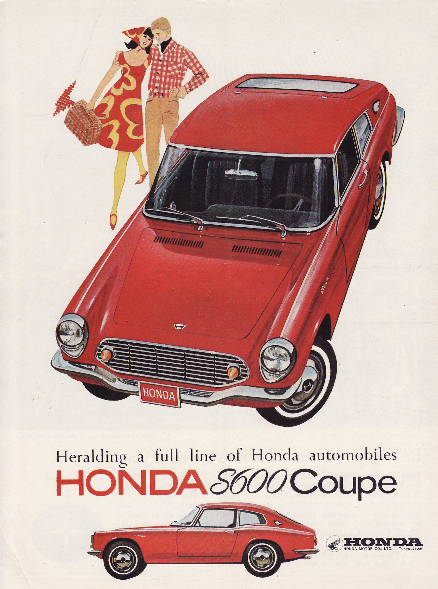 Honda S600 Advertisement