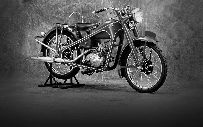 Honda Type D Motorbike