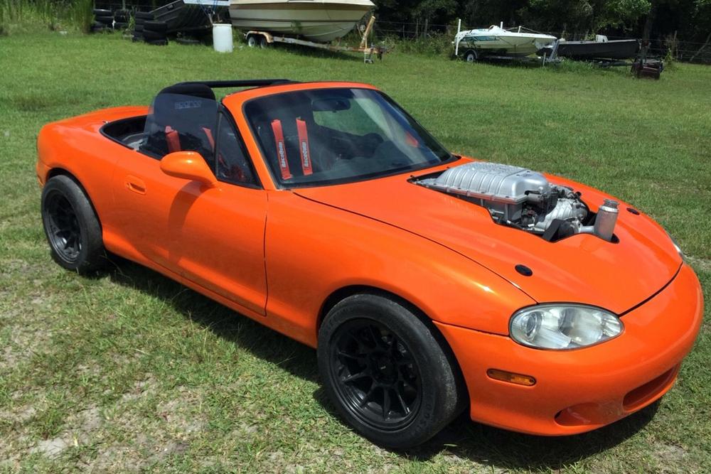 1999 Mazda Miata Custom Convertible