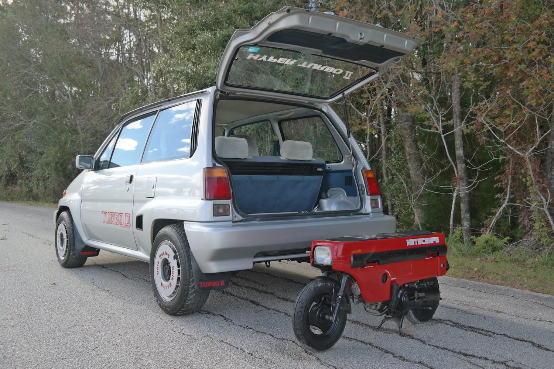 Honda City Motocompo
