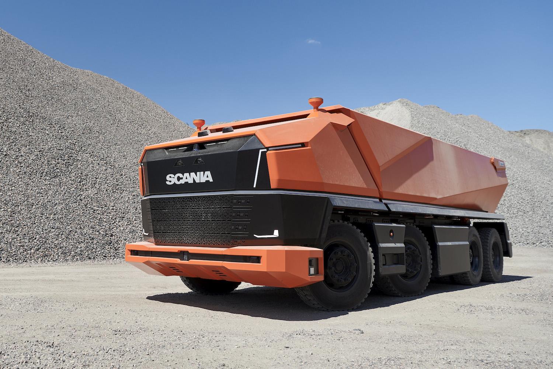 Scania built its most badass dump truck yet thumbnail