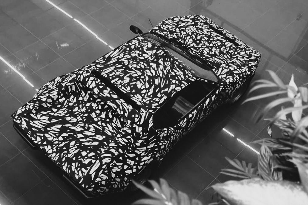 De Tomaso GTR Wrapped