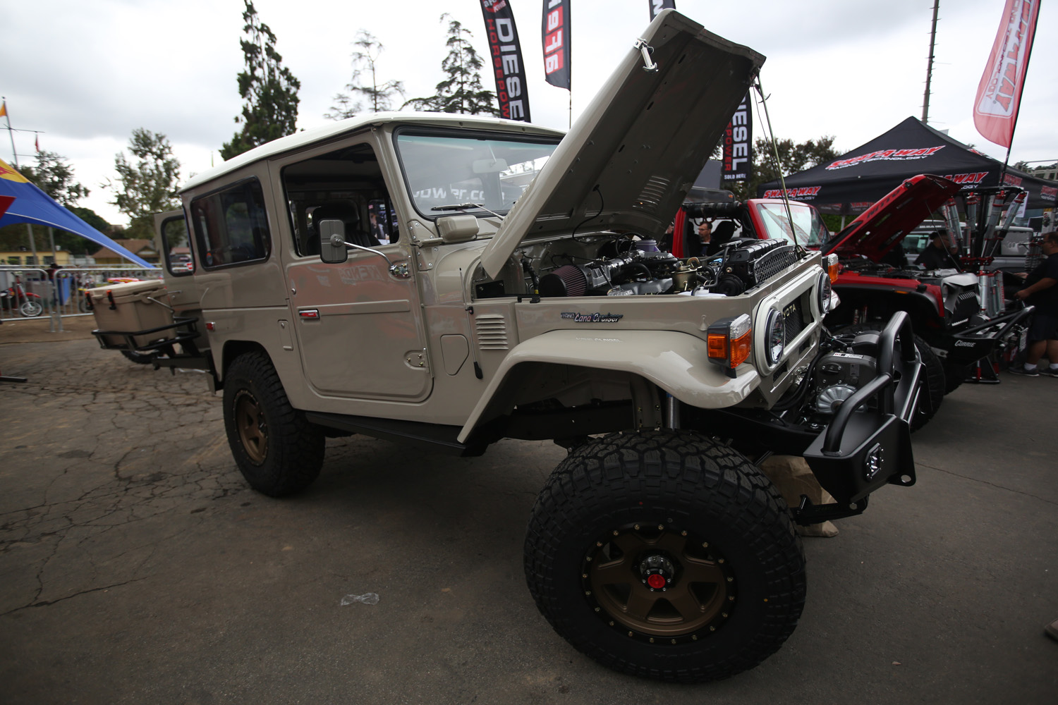 Off-Road Expo 4x4s
