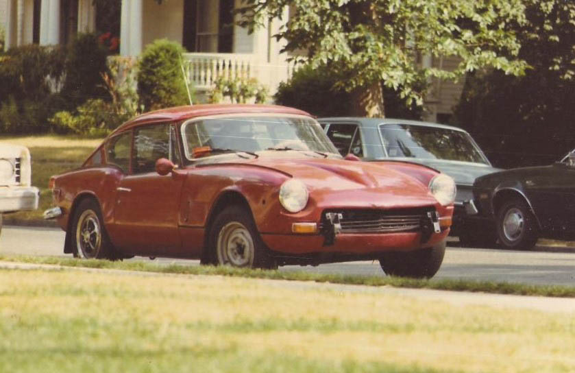 My miserable but highly memorable Triumph GT6+