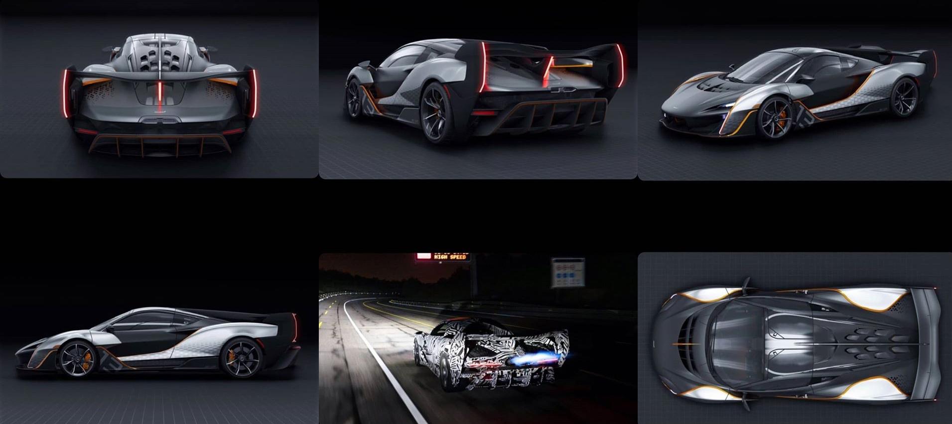 McLaren Leak photos