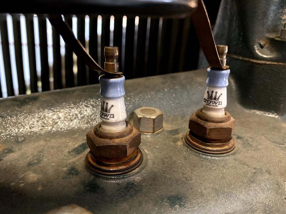 Blue Crown Spark Plugs