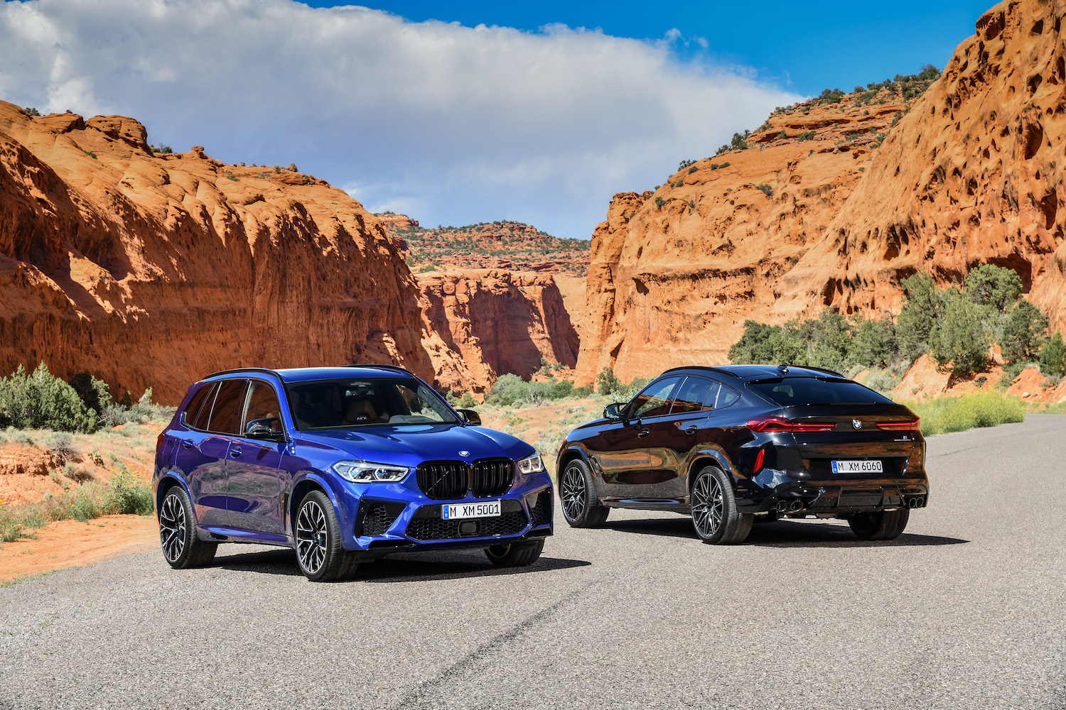 BMW stuffs the beefy M5 engine into the X5 and X6 M thumbnail