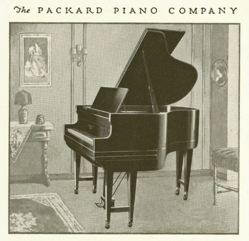 Packard produced American luxury cars—and grand pianos thumbnail