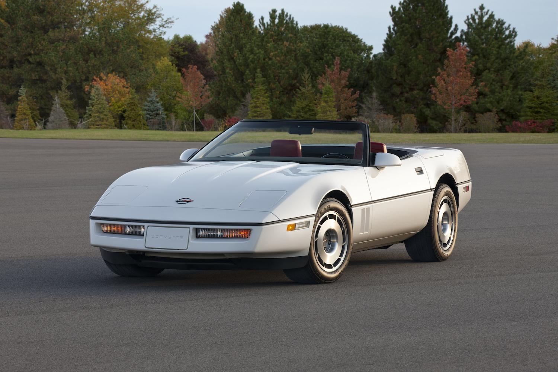 The 1986 Corvette convertible was a big deal… back then thumbnail