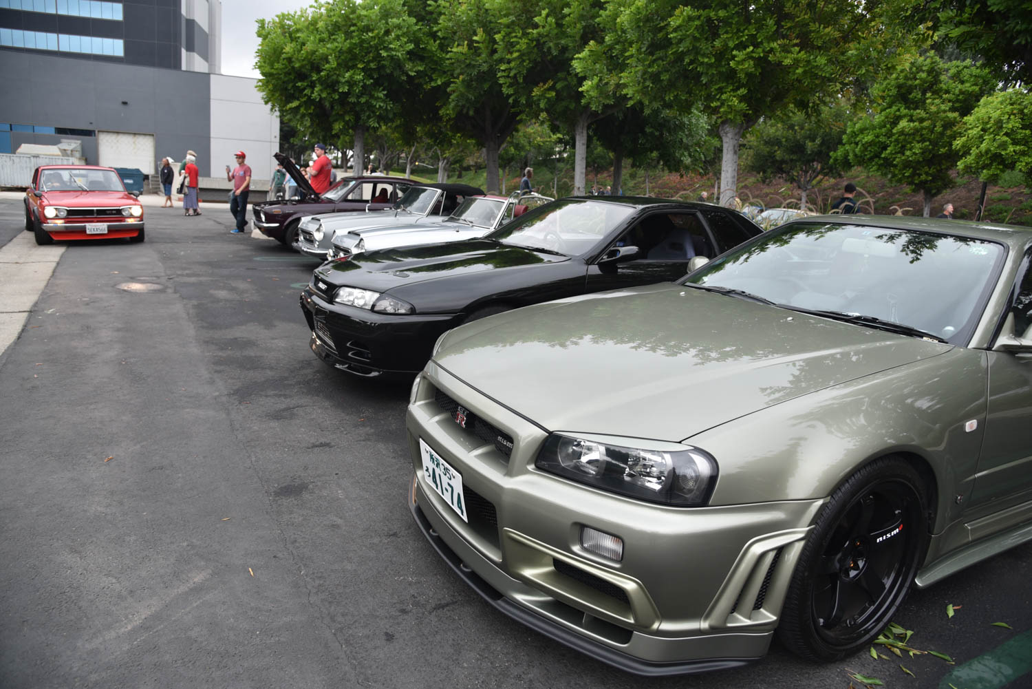 Irvine Cars and Coffee reunion