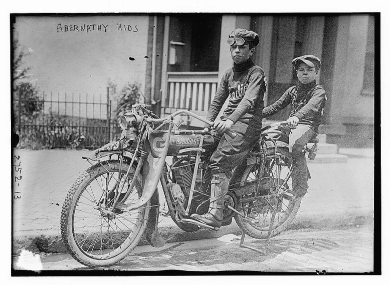 Abernathy Boys motorycle
