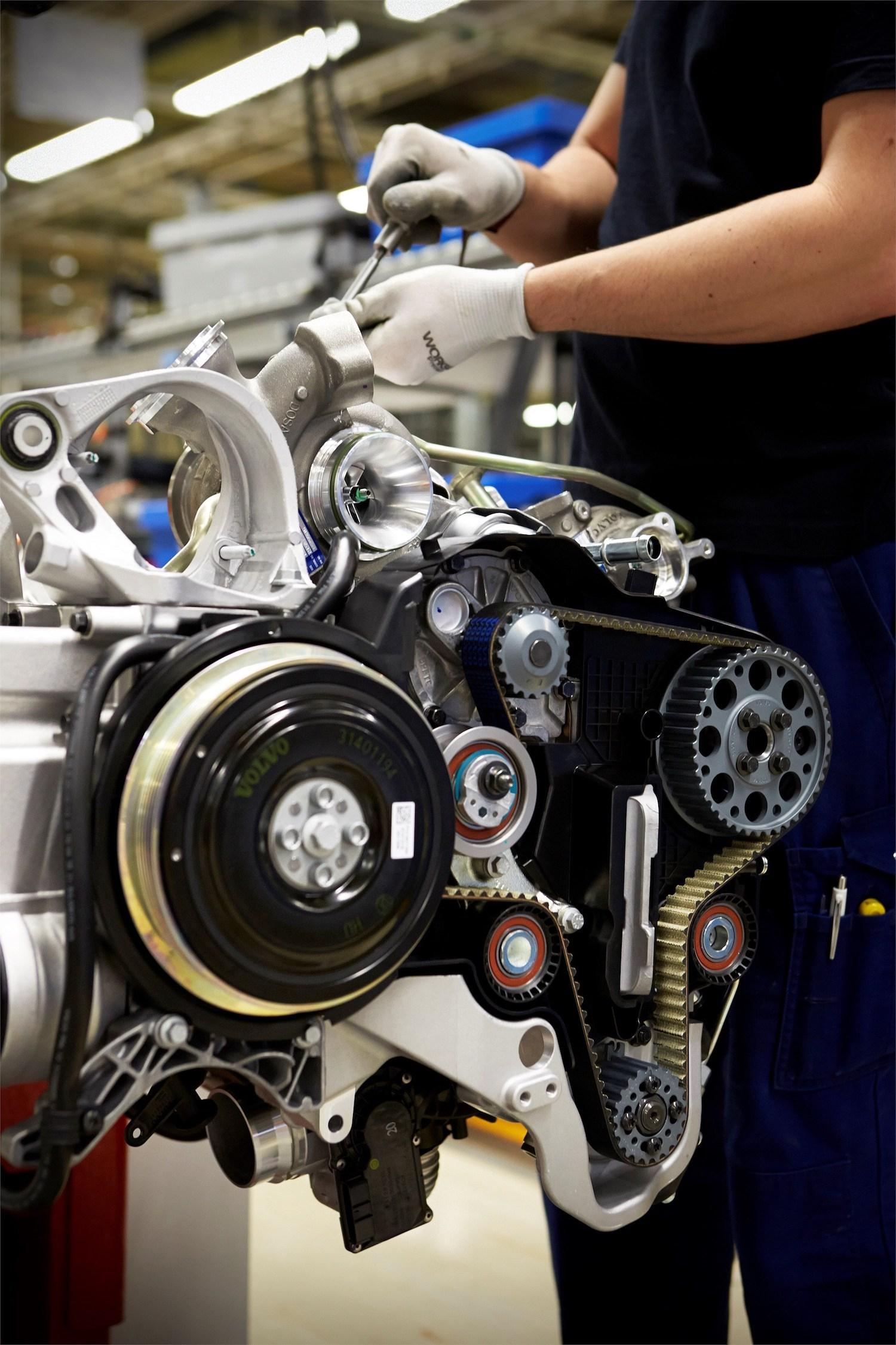 Volvo Engine Factory