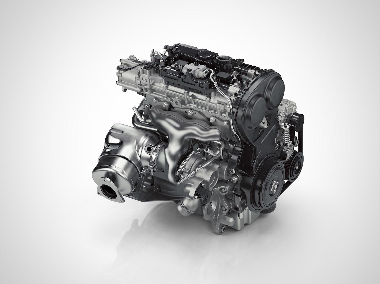 Volvo Four Cylinder Engine