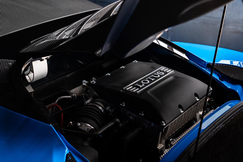 Lotus Evora Car Engine Bay