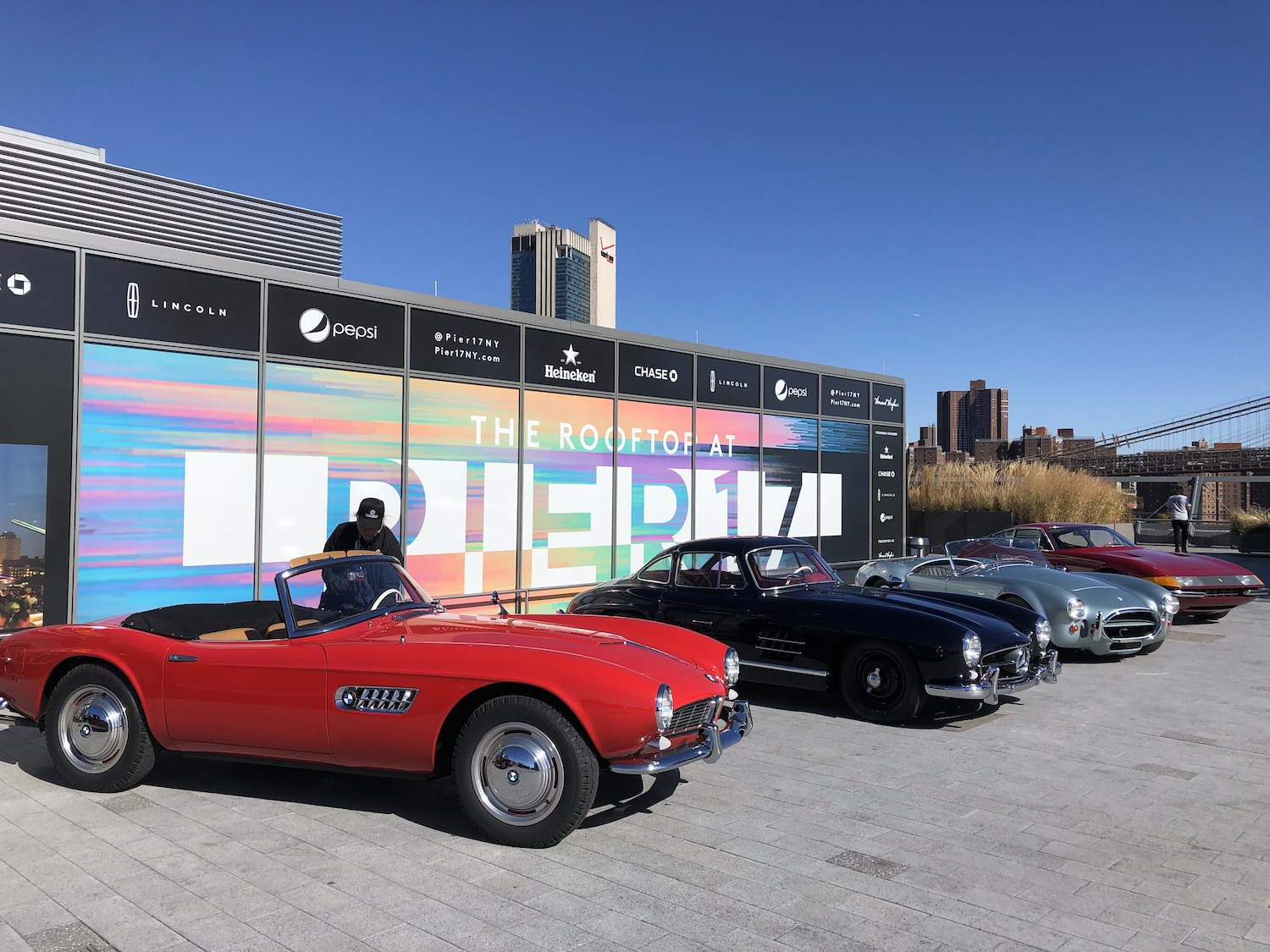 NYC Inaugural Concours BMW 507