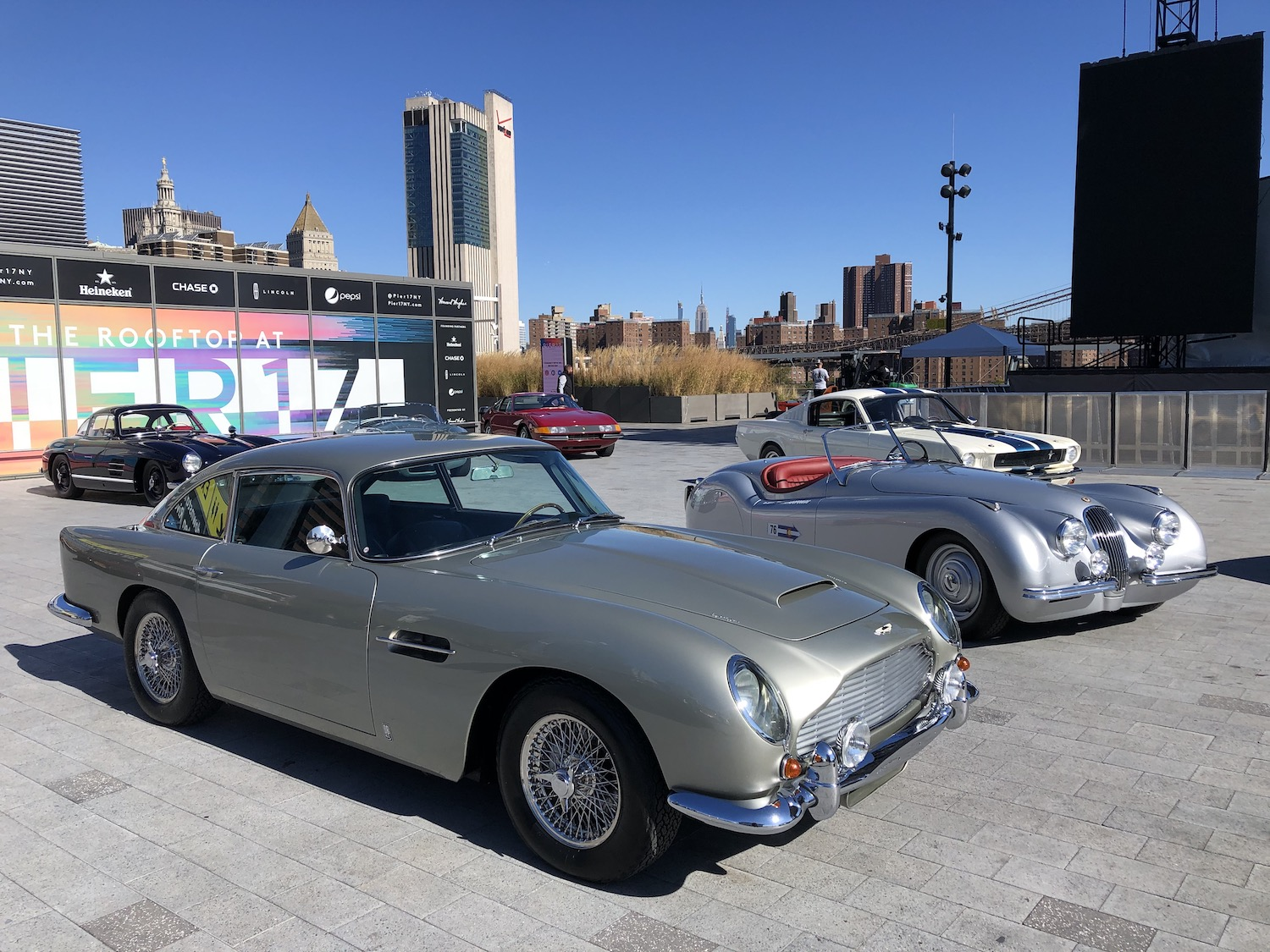 New York City Inaugural Concours Aston Martin DB5