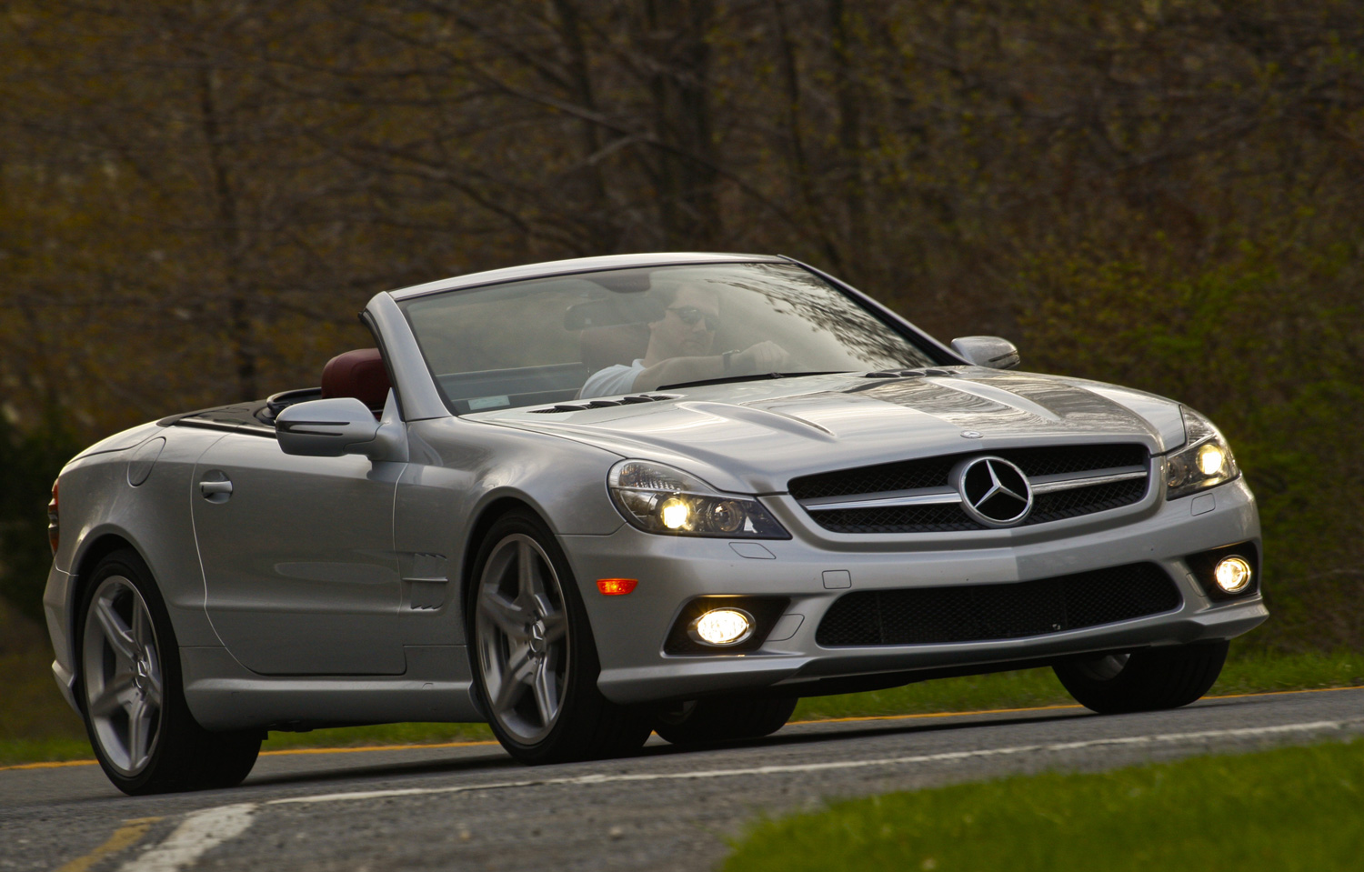 Mercedes-Benz SL550 Silver Arrow