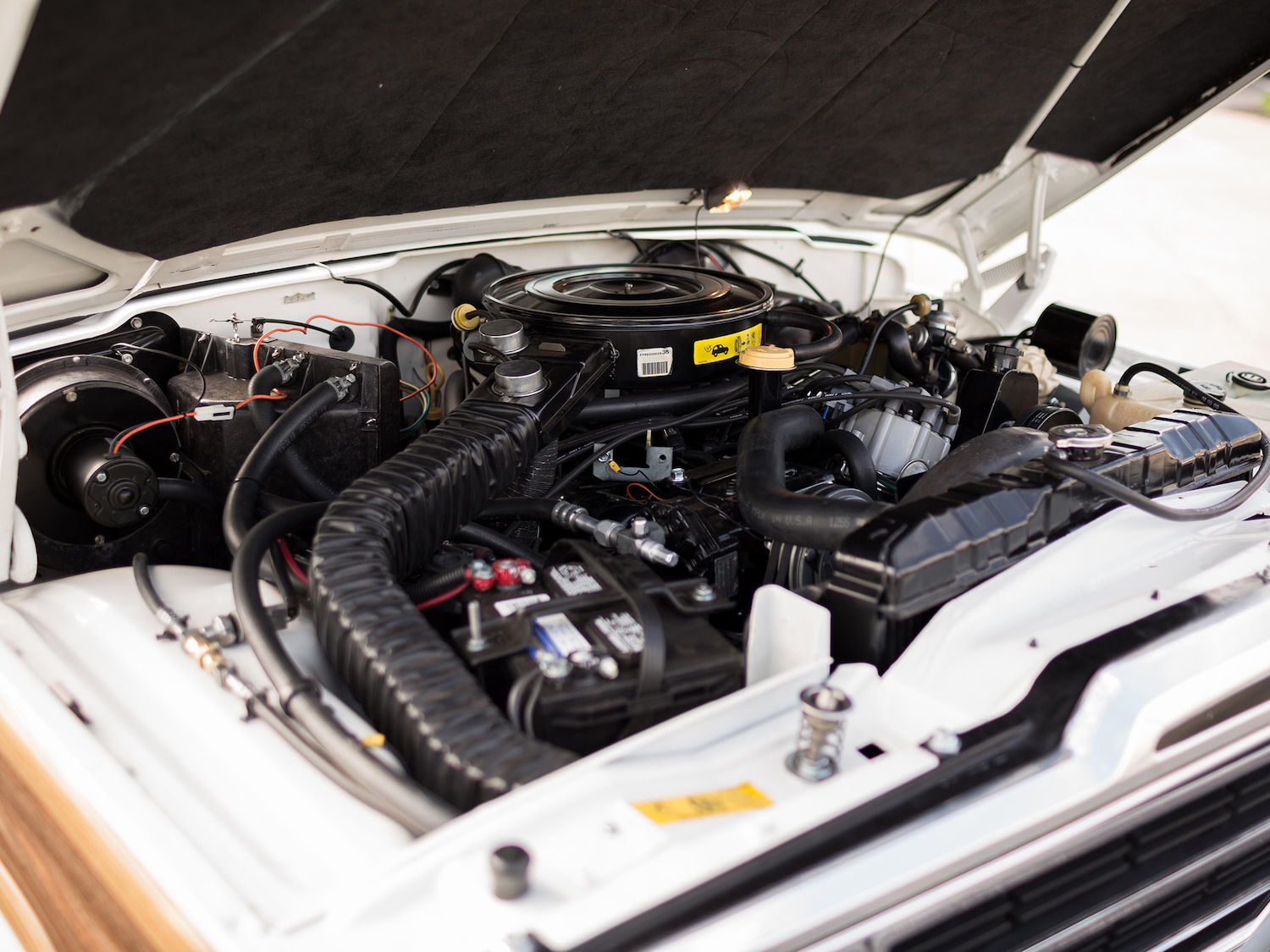 Jeep Grand Wagoneer Engine Bay