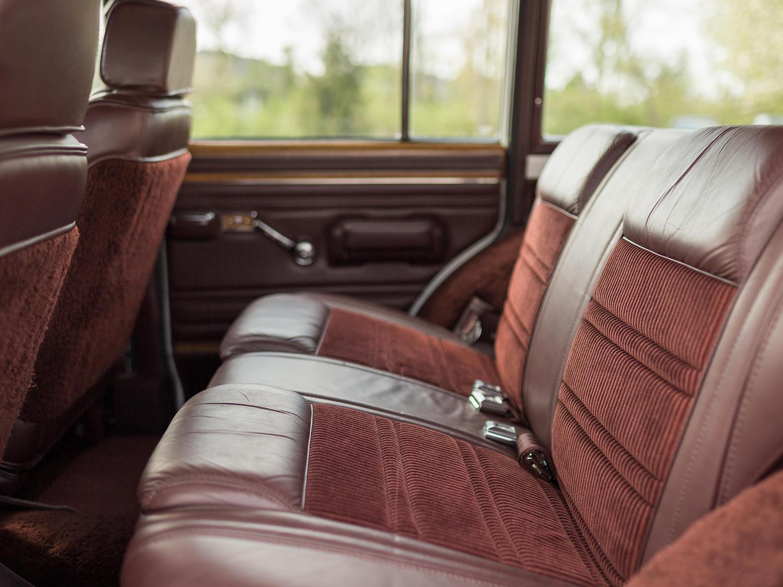 Jeep Grand Wagoneer Rear Seat