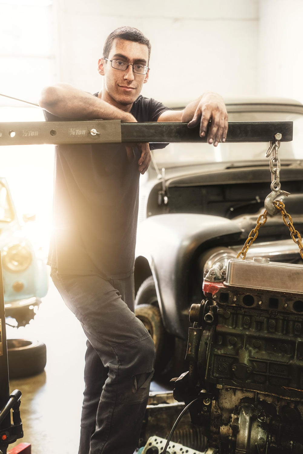 Nate Kulpa saw college as a barrier rather than a pathway to his entrepreneurial goals. Today, his business, Wild Child Classic Cars, is going strong.