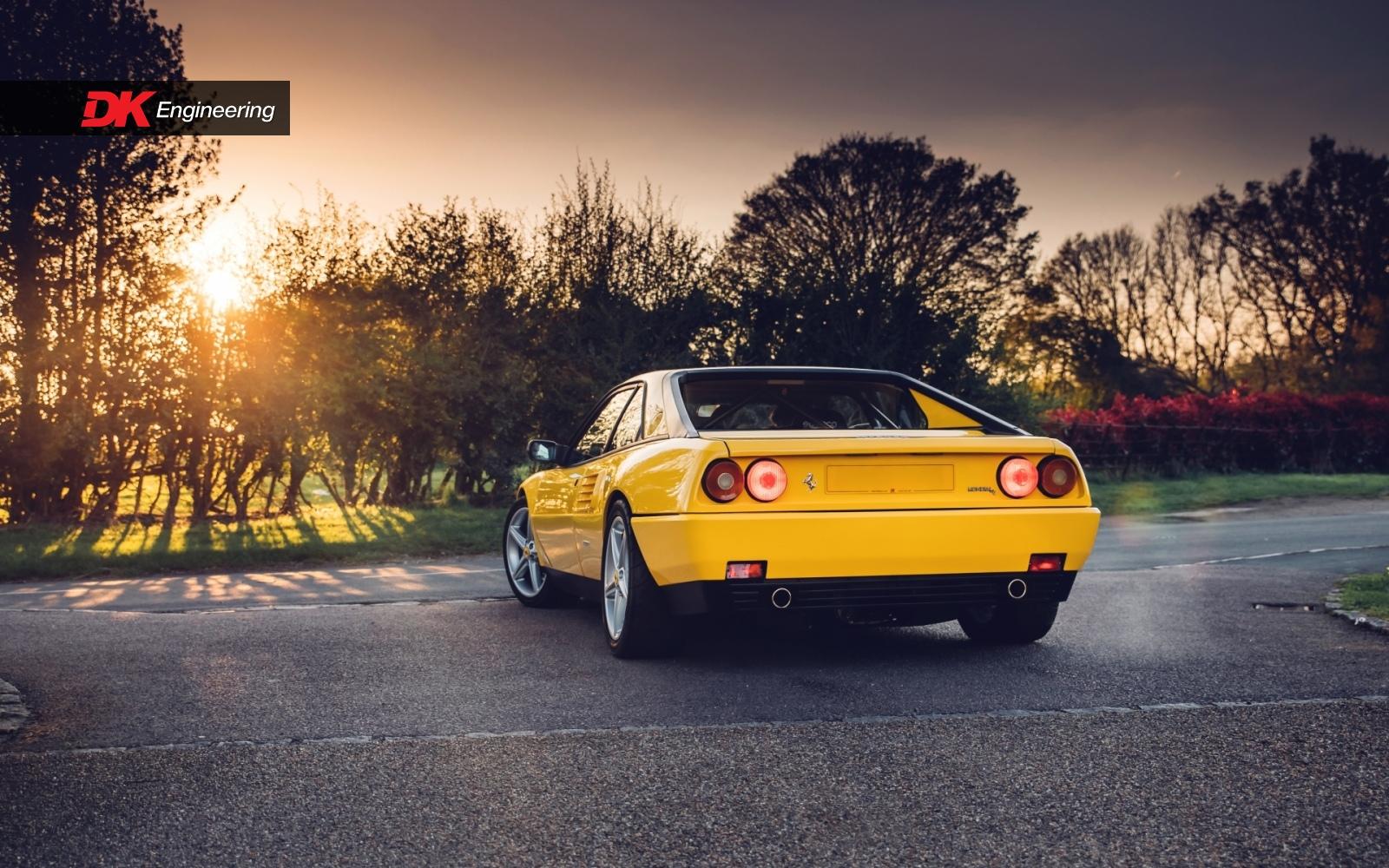 Ferrari Mondial rear 3/4