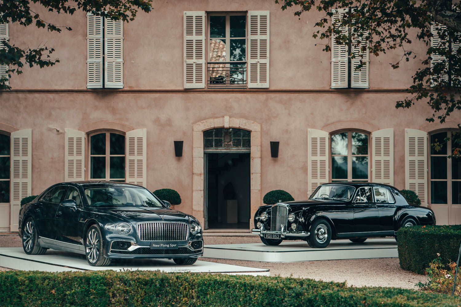 61 years of the Bentley Flying Spur: Then and now