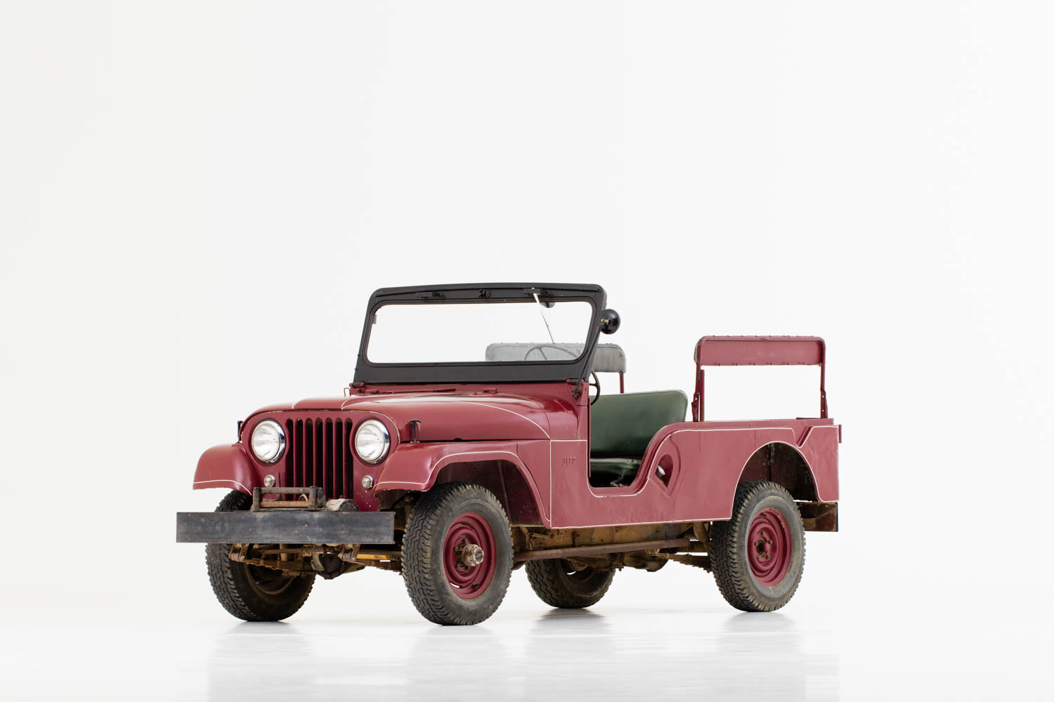 President Reagan's 1962 Willys Jeep CJ-6
