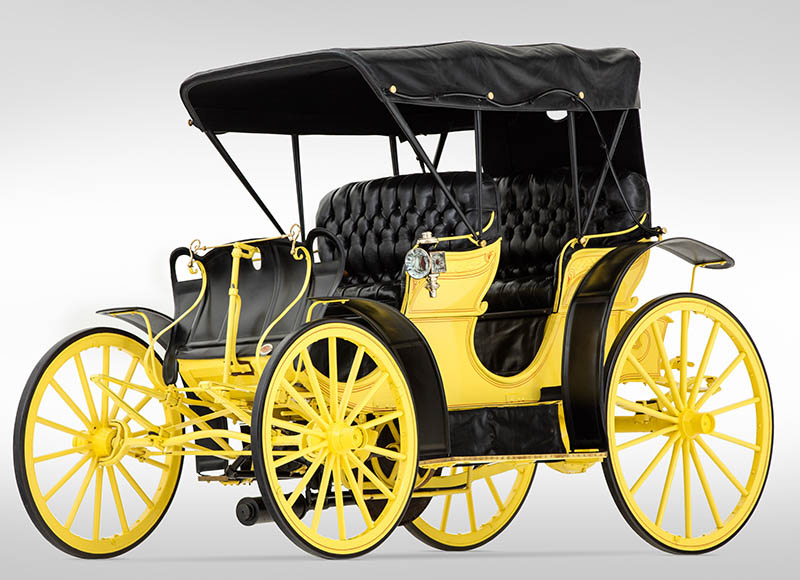 1896 Benton Harbor Motor Carriage