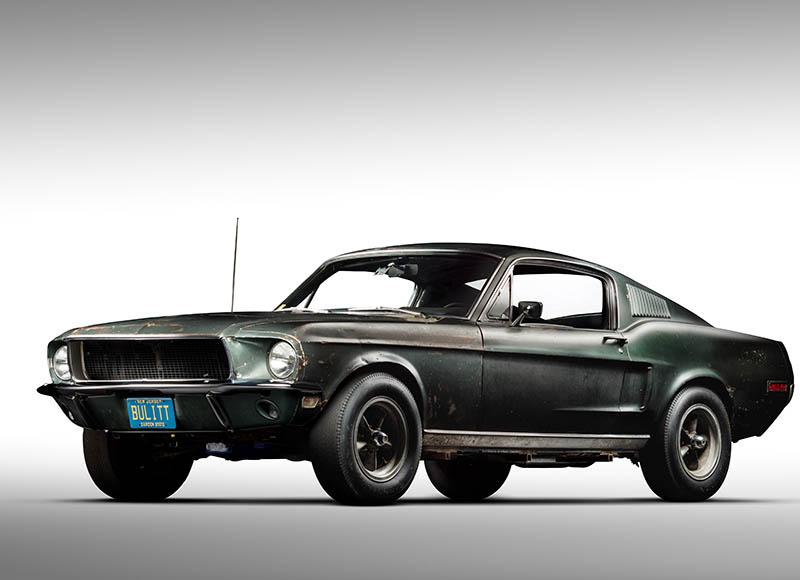1968 Ford Mustang Fastback (Bullitt)