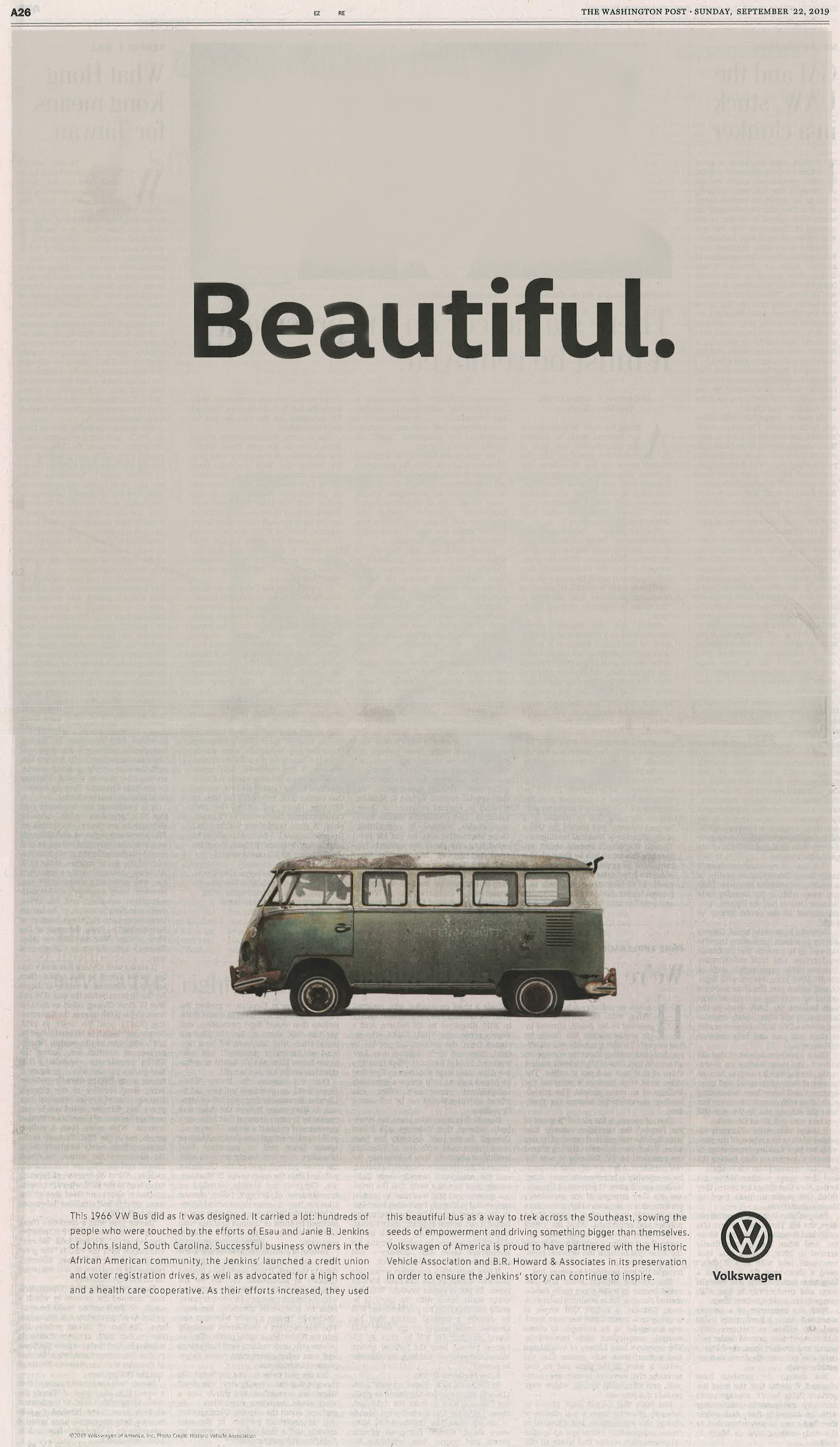 Volkswagen Ad Campaign Post Article