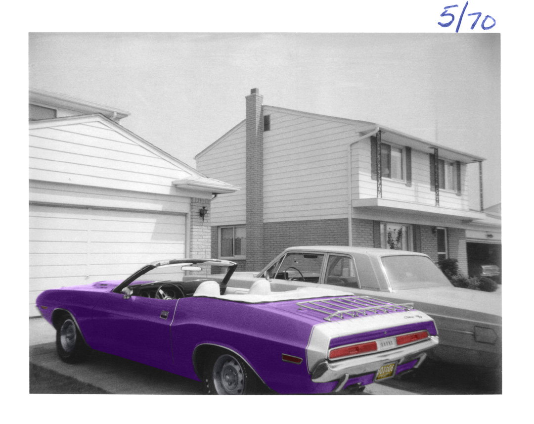 I borrowed a new '70 Challenger for senior prom, provided I followed two rules