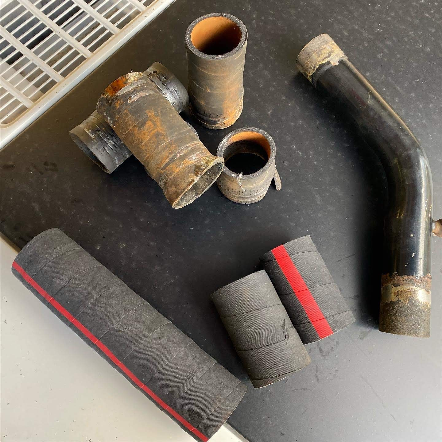 Replacing radiator hoses shouldn't require a Sawzall—but mine did