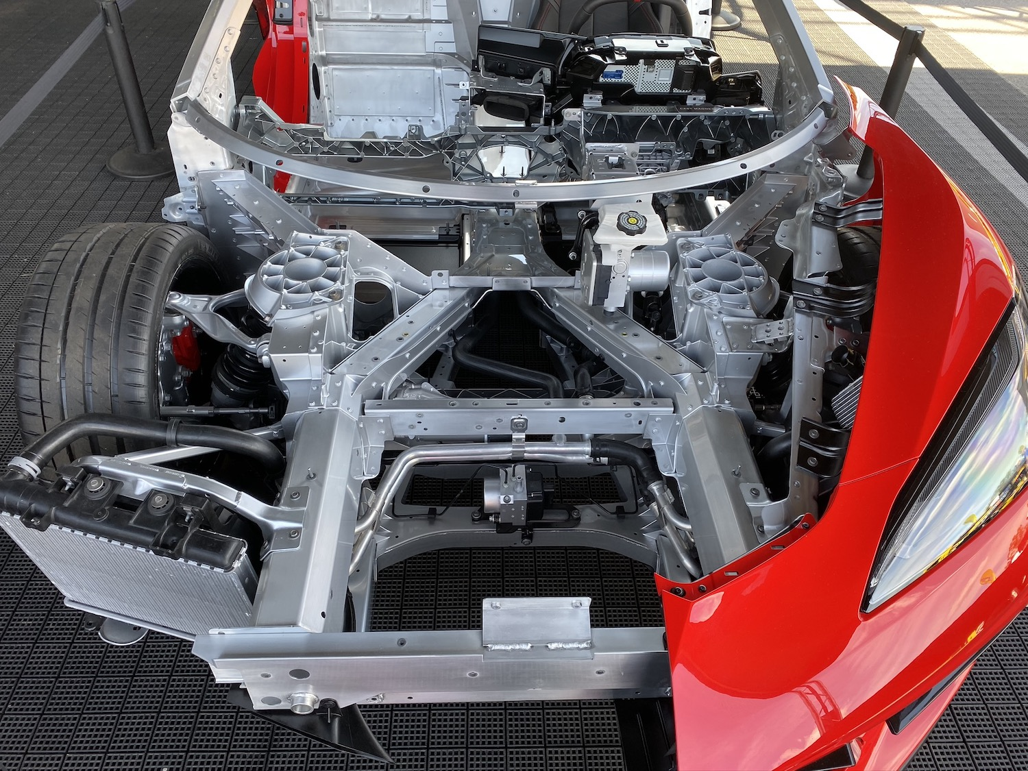 The C8 Corvette's suspension adjustability is a dream for track hopefuls