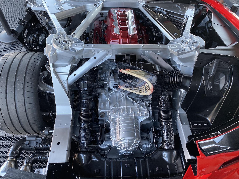 Chevrolet Corvette C8 Stingray Suspension Components
