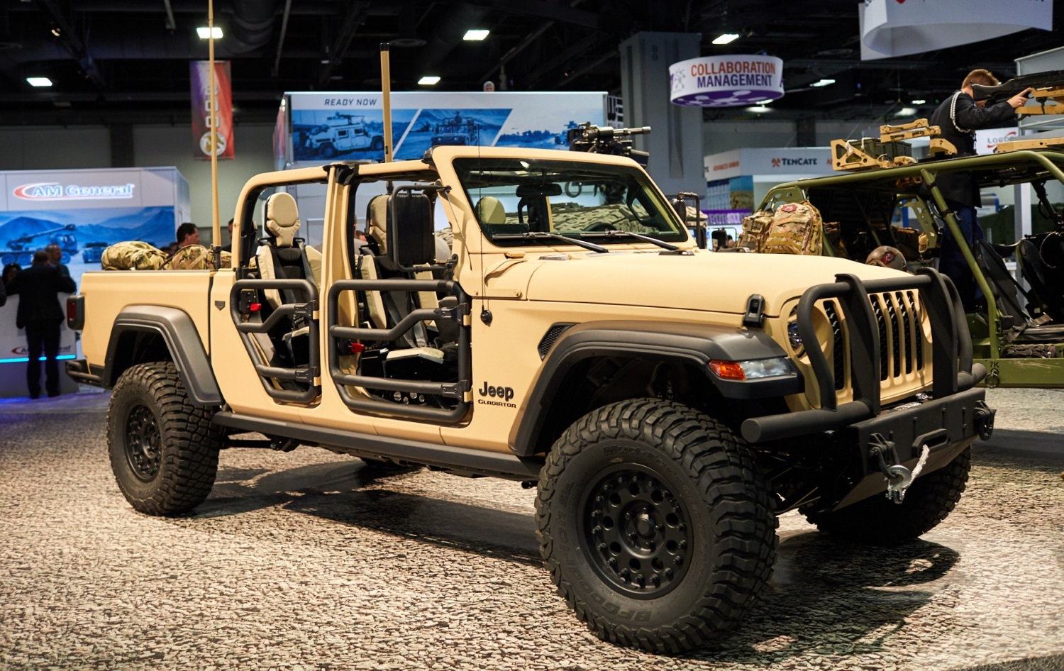 The Gladiator XMT is a Jeep with a true military heart