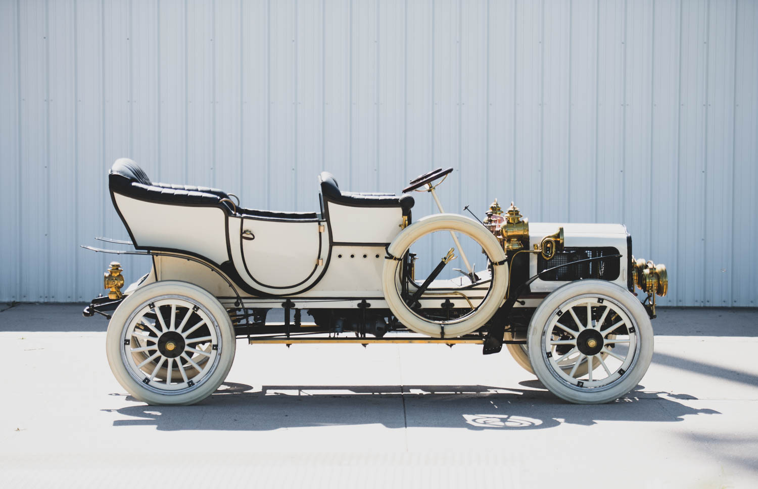 1906 White Model F Steam Touring