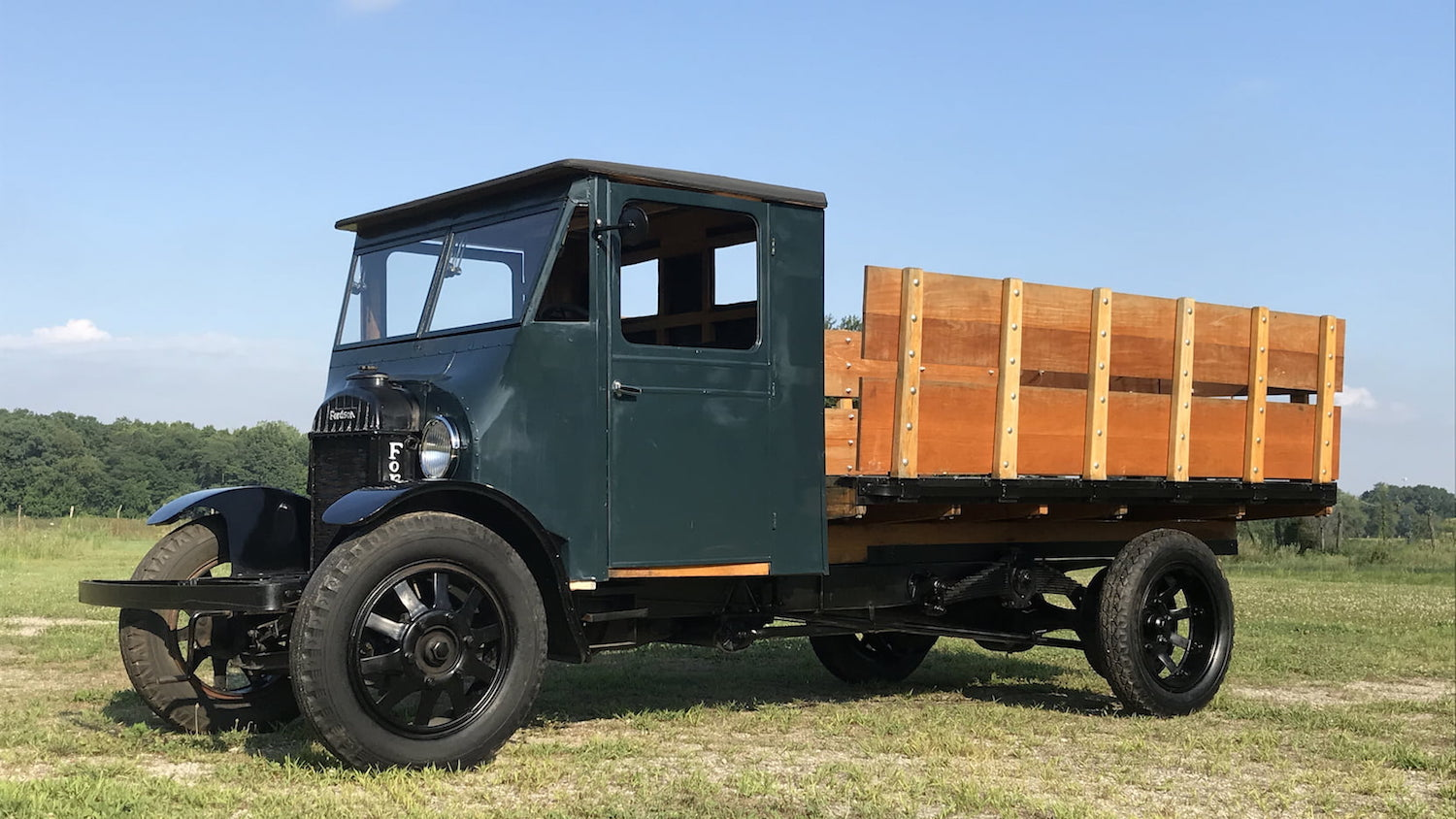 Best known for tractors, Fordson produced this badass truck, too