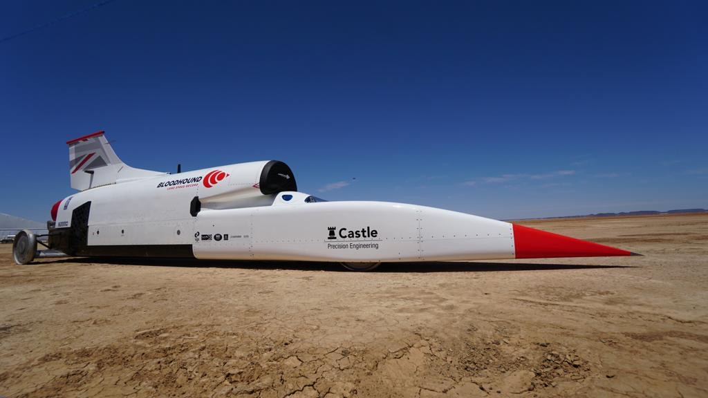 Test-ready Bloodhound Land Speed Record car revealed in South Africa thumbnail