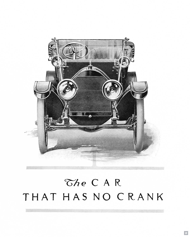 1912 Cadillac Model Thirty Ad