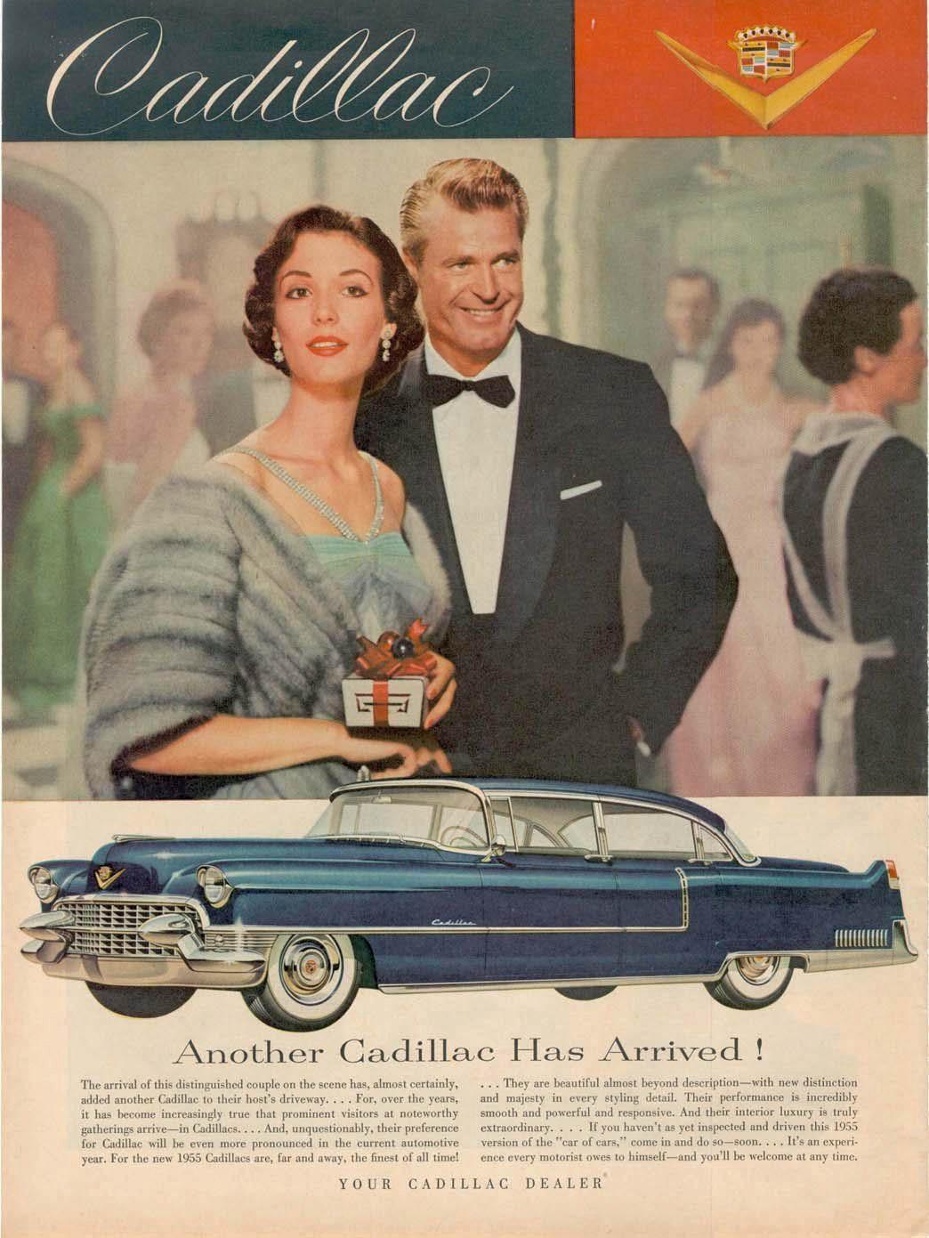 1955 Cadillac ad