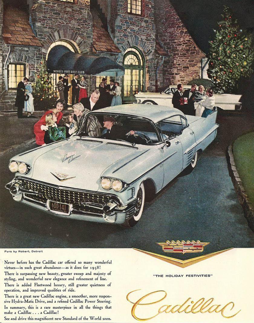 1958 Cadillac ad