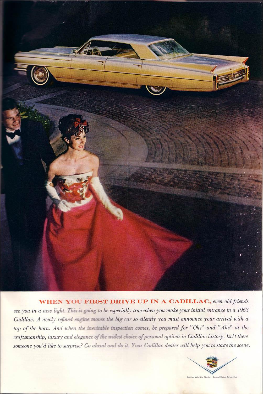 1963 Cadillac ad