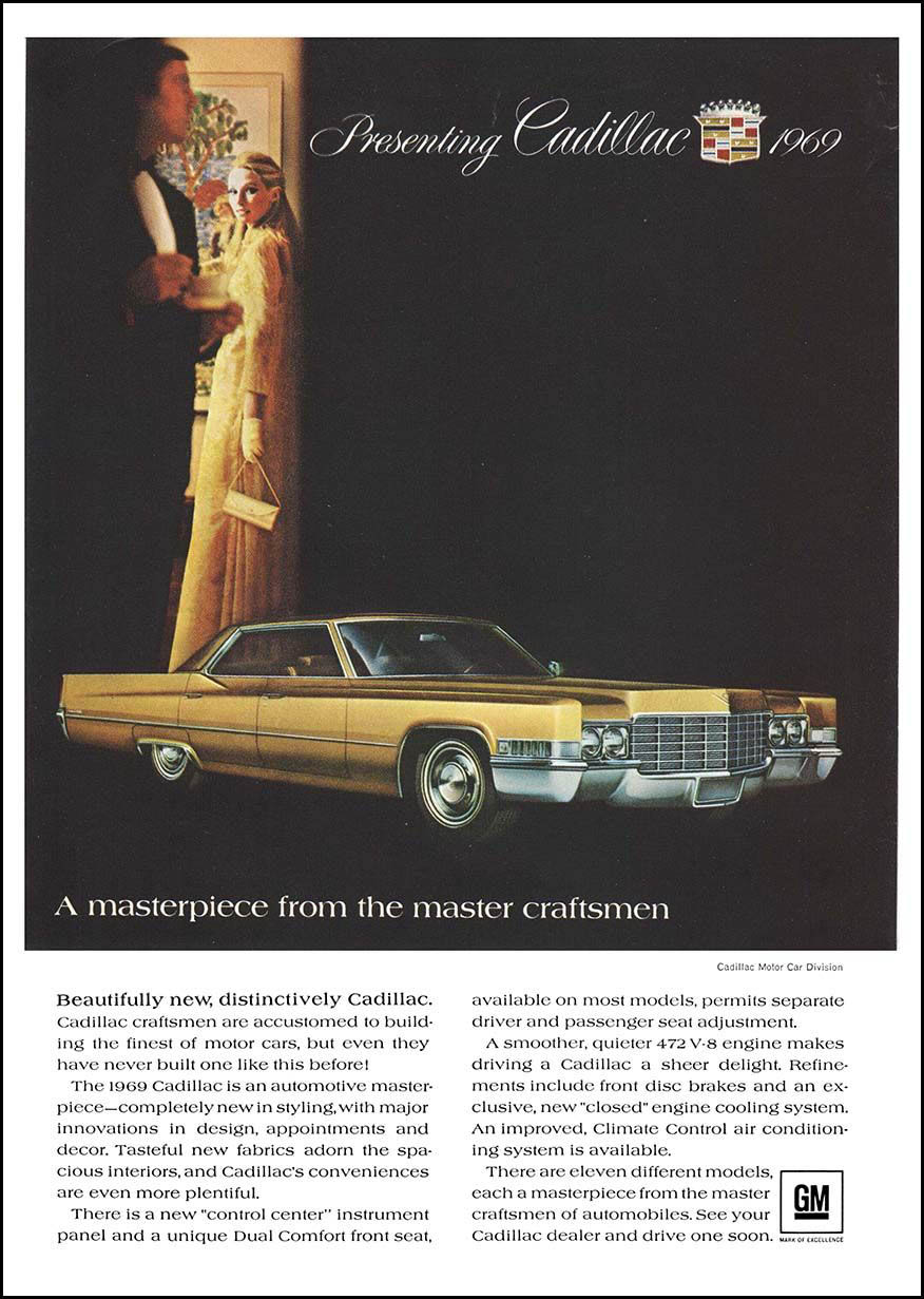 1969 Cadillac ad
