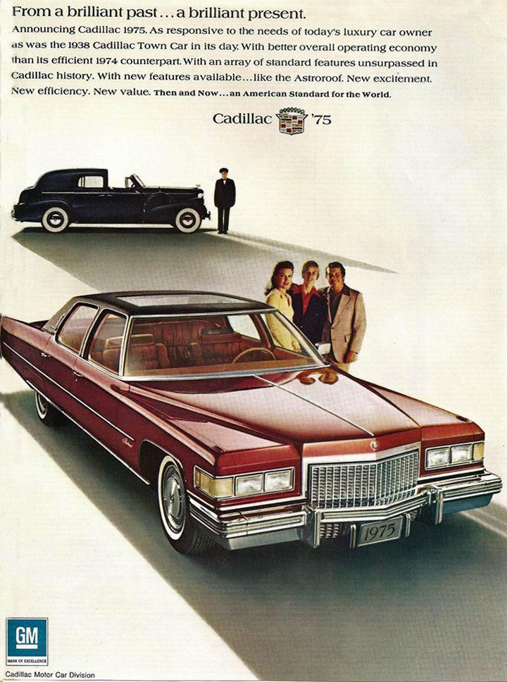 1974 Cadillac Ad