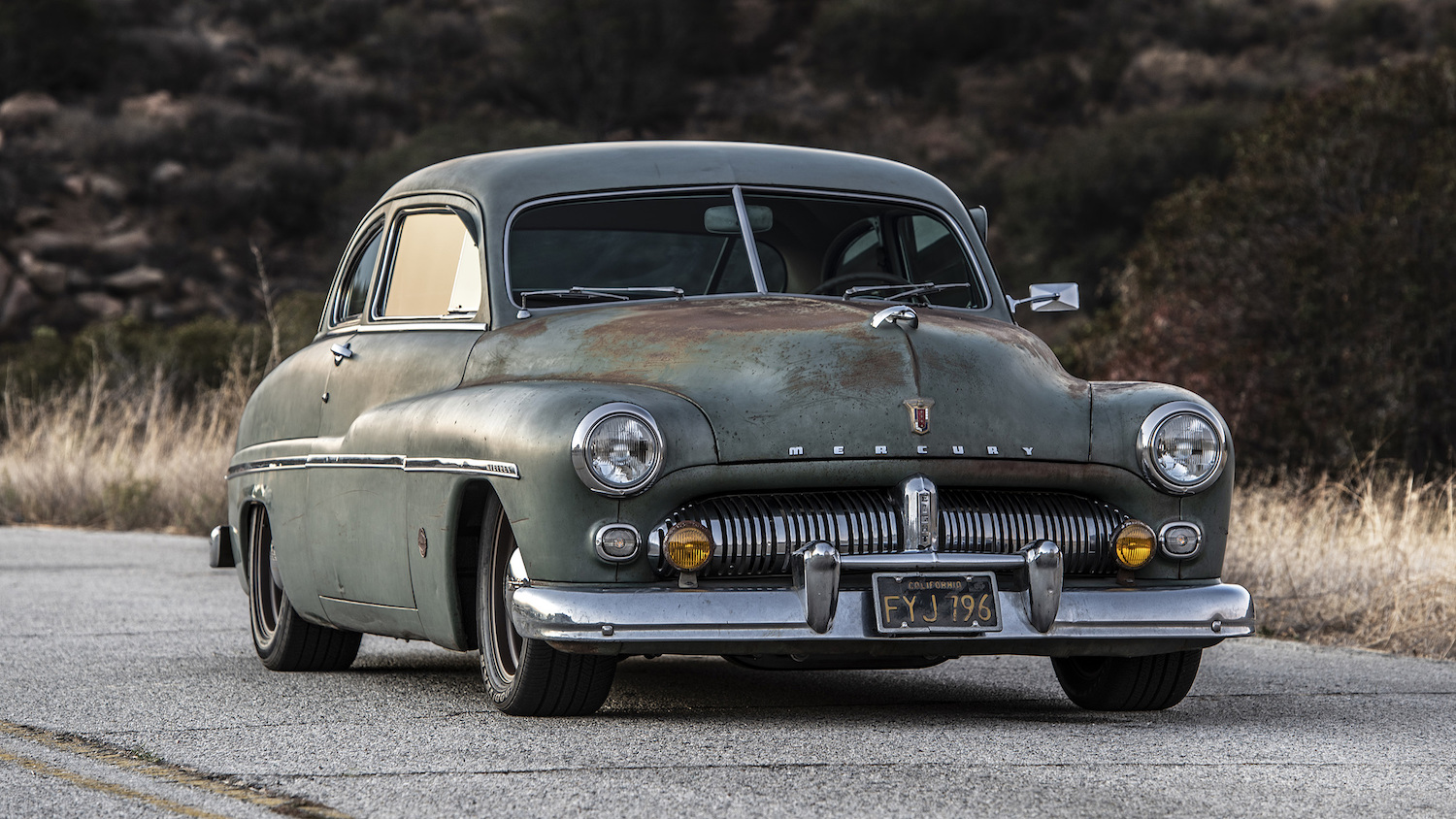 1949 Icon Electric Vehicle Mercury Coupe