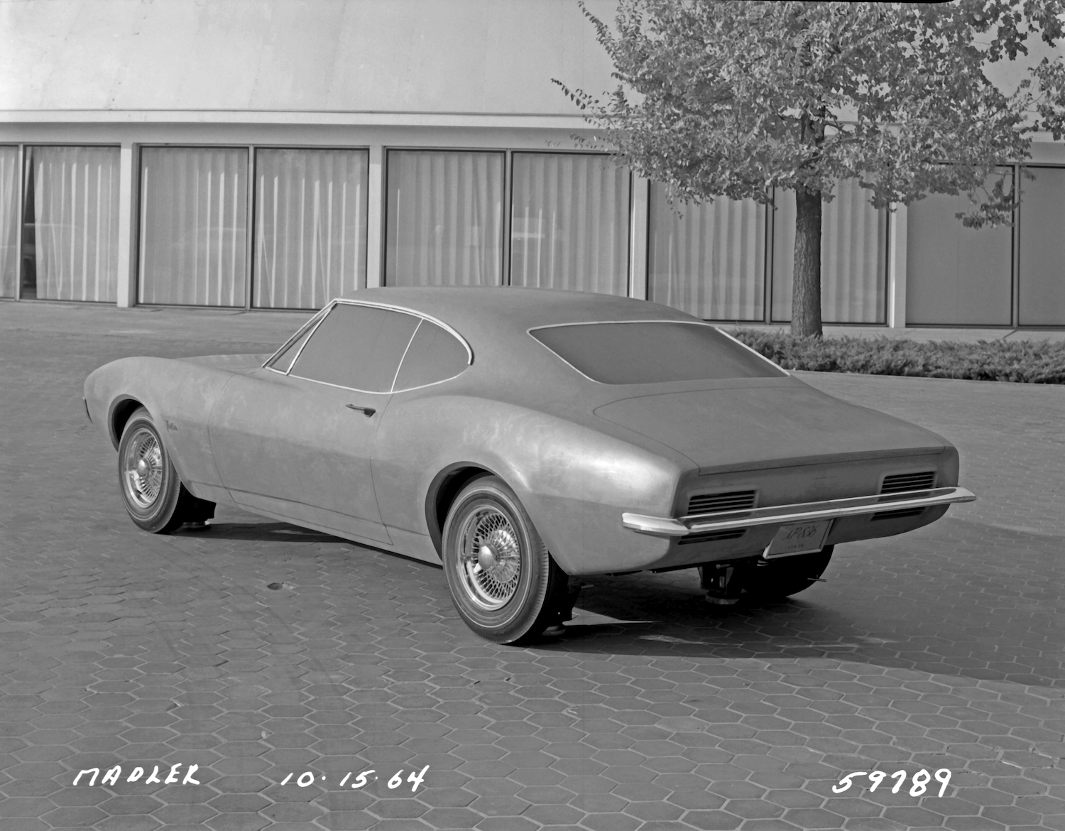 1964 XP-836 Clay Model Design Viewing Yard