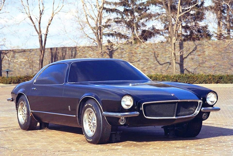 2nd Generation Chevrolet Camaro Design Model
